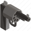 equipment, gun, handgun, self defence, tools, weapon icon