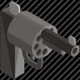 equipment, gun, handgun, self defence, tools, weapon icon
