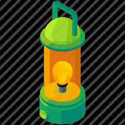camping, equipment, lamp, light, lightbulb, tools icon