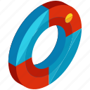 life, preserver, equipment, safety, sea, ship, tools icon