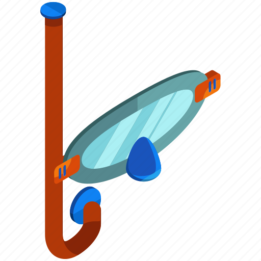diving, equipment, snorkle, snorkling, swimming, tools icon