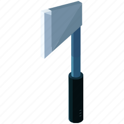 axe, chip, cut, equipment, tools, wood icon