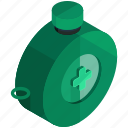 beverage, drink, equipment, flask, tools, water icon