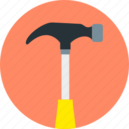 claw, construction, hammer, repair, tool, tools, work icon