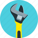 locking, wrench, equipment, mechanical work, repair, service, tools