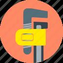 construction, mechanic work, monkey, repair, repair tools, tools, wrench icon