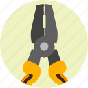 equipment, plier, pliers, repair, service, tools icon