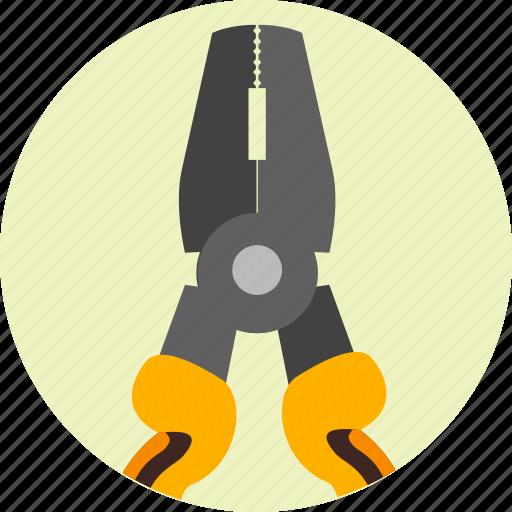 equipment, plier, pliers, repair, service, tools icon