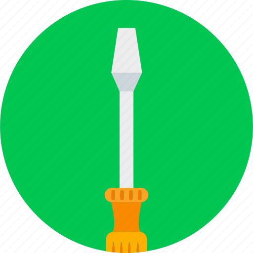 equipment, repair, screw driver, screwdriver, service, tool, tools icon