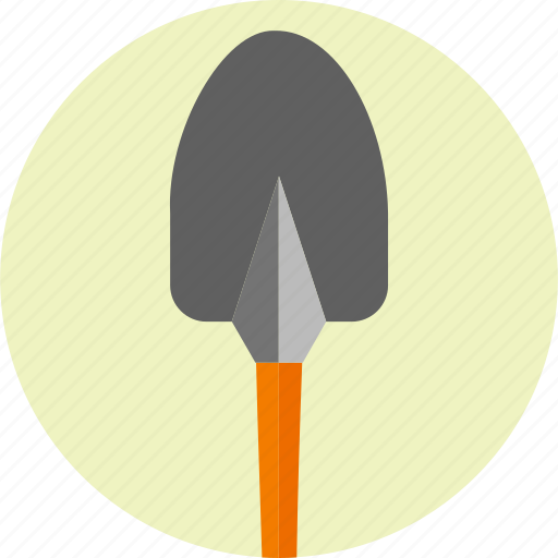 construction, ground work, shovel, spade, tool, tools, trovel icon
