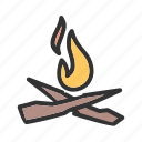 burn, explosion, fire, flame, flames, hot, light icon