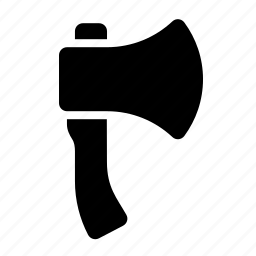 axe, hatchet, tools icon