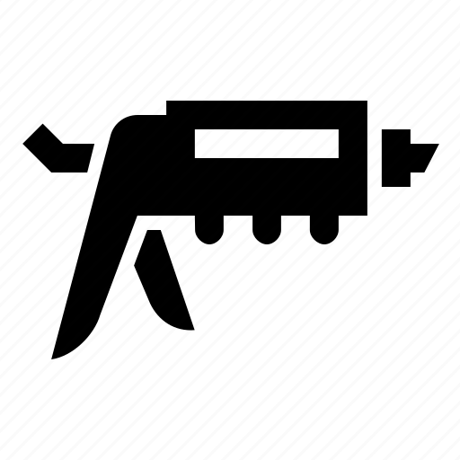 calk, gun, tools icon