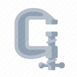 clamp, tools icon