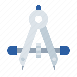 compass, tools icon