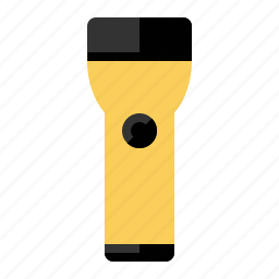 flashlight, lamp, tools, torch icon