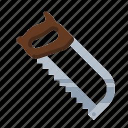 hacksaw, saw, tools icon