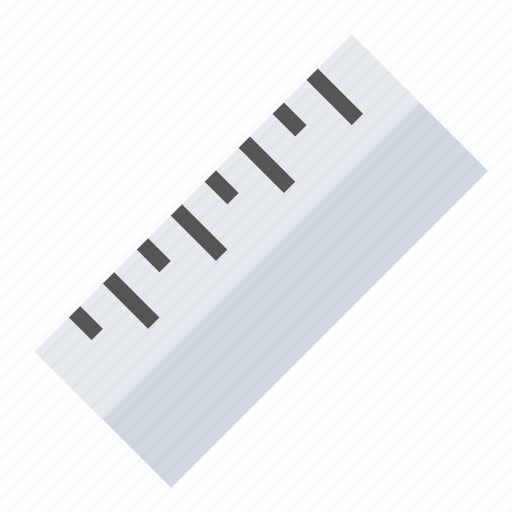 ruler, tools icon