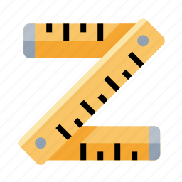measure, ruler, tools icon