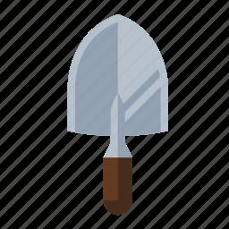 shovel, spade, tools, trowel icon