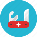 knife, pocket icon