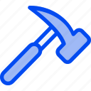 building, construction, equipment, hammer, tool icon