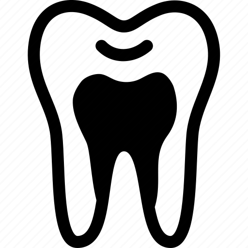 caries, cavity, decayed, dental, tooth, toothache icon
