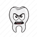 cartoon, dental, dentist, emoji, smiley, tooth
