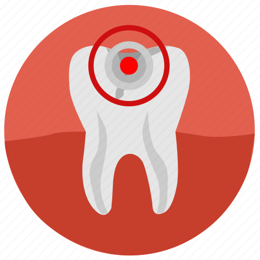 caries, dental, implant, mouth, pain, tooth, tooth implant icon