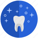 clean, dental, health, implant, tooth, tooth implant, white icon
