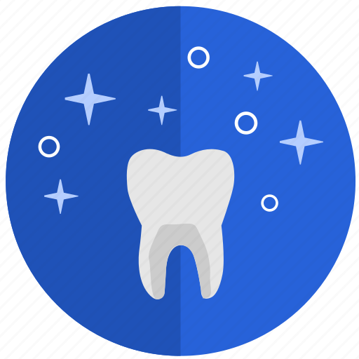 clean, dental, health, tooth, white icon