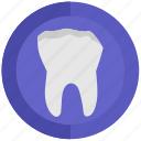 broken, health, stomatology, tooth icon