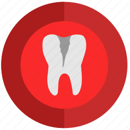 caries, health, illness, stomatology, tooth icon