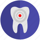 dental, health, implant, pain, tooth, tooth implant icon