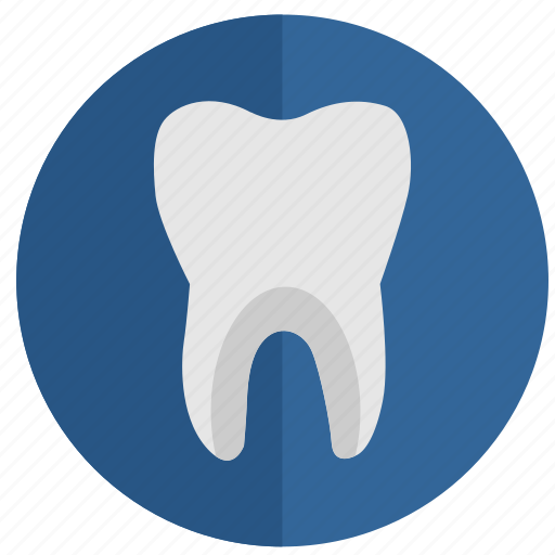 health, implant, round, stomatology, tooth, tooth implant, white icon