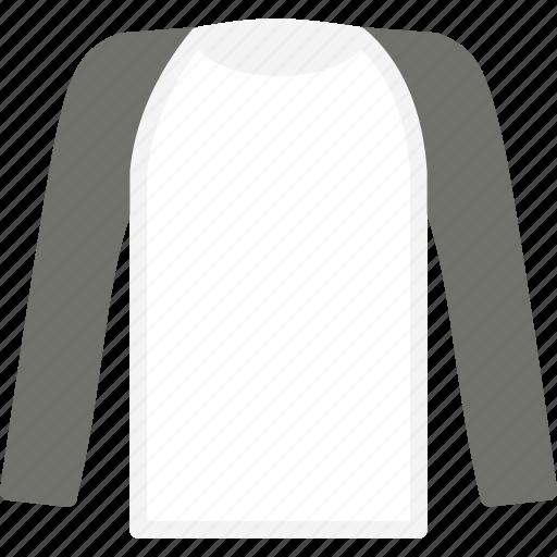 apparel, clothes, long, shirt, sleeve, top icon