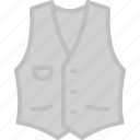 apparel, classic, clothes, top, vest icon
