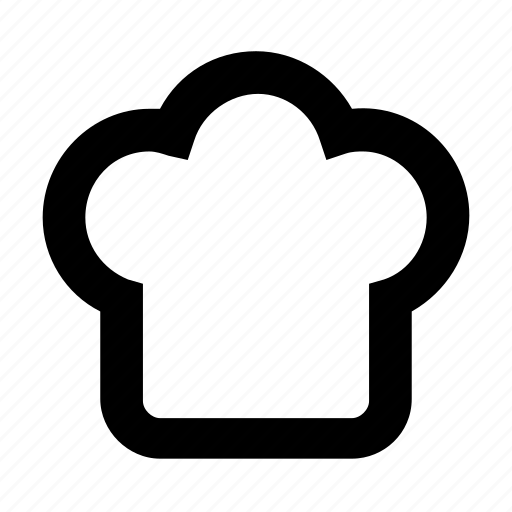 chef, cook, cooking, dine, eat, food, hat icon