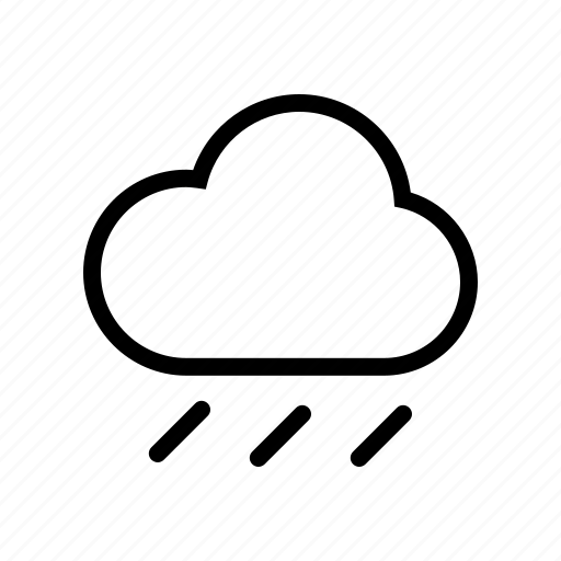 cloud, cloudy, forecast, rain, storm, weather icon