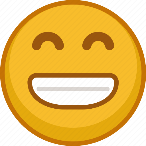 emoji, emoticon, emoticons, expression, grin, smile, smiley icon