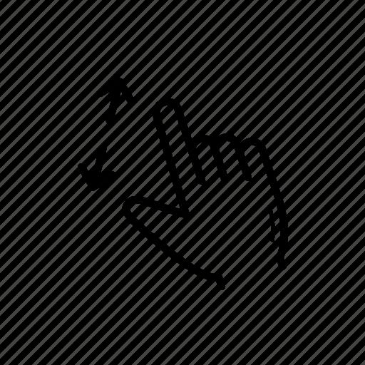 drag, in, tab, zoom, zoom in icon