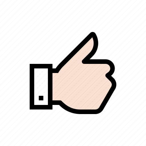 approve, gesture, hand, like, thumbs up icon