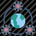 coronavirus, disease, plague, spread, world