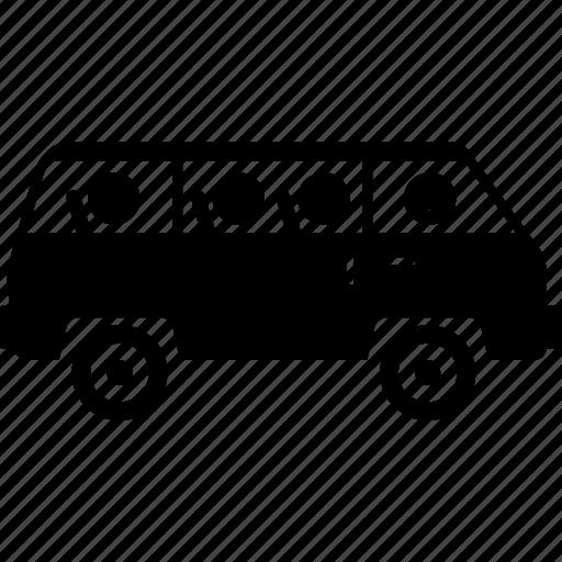 car, driver, driving, guide, tour, travel, van icon