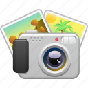 camera, photo, picture, taking photos, tourism, vacation icon