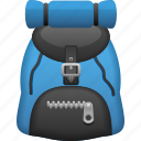 backpack, backpacking, hike, hiking, tourism icon