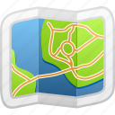 destination, map, tourism, travel icon