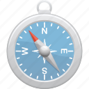 compass, direction, east, navigation, north, south, west icon