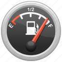 fuel, fuel gage, fuel gauge, gauge, travel icon
