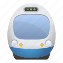 locomotive, tourism, train, travel, vacation icon